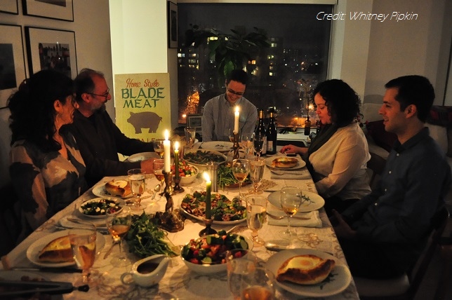 Thanks to Whitney Pipkin, who took this picture at a dinner I prepared along with Wendy Stuart of Food Works Group. The photo was also featured in the Washington Post (Mar. 3, 2015).